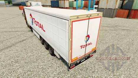 Скин Total на полуприцепы для Euro Truck Simulator 2