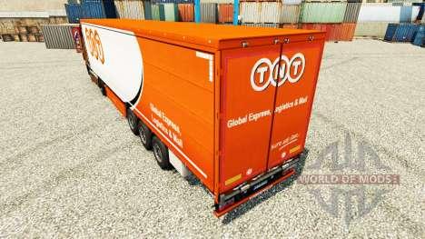 Скин TNT на полуприцепы для Euro Truck Simulator 2