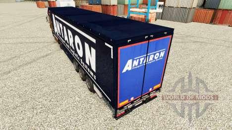 Скин Antaron на полуприцепы для Euro Truck Simulator 2