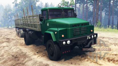 КрАЗ-260 4x4 для Spin Tires