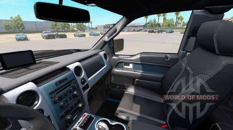 Ford F-150 SVT Raptor v2.0 для American Truck Simulator