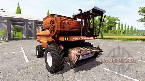 Дон-1500А для Farming Simulator 2017