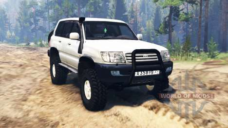 Toyota Land Cruiser [pack] для Spin Tires