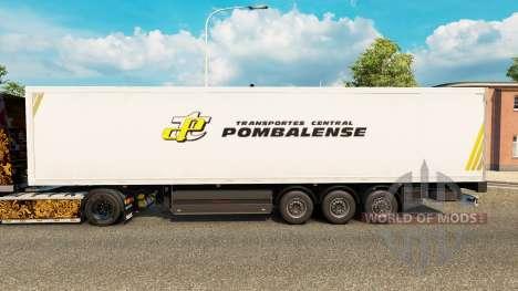 Скин Pombalense на полуприцепы для Euro Truck Simulator 2