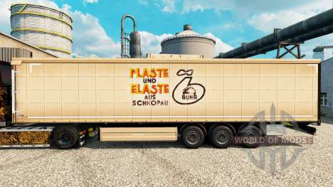 Скин Plaste und Elaste на полуприцепы для Euro Truck Simulator 2