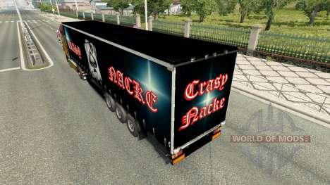 Скин Crasy Trans Logistic v2.0 на полуприцепы для Euro Truck Simulator 2