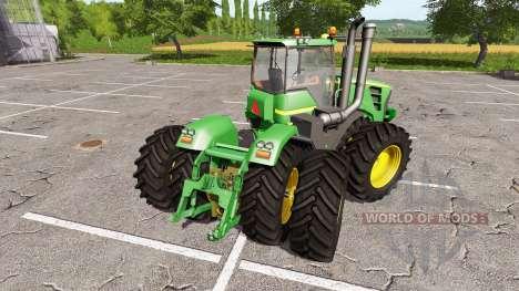 John Deere 9630 для Farming Simulator 2017