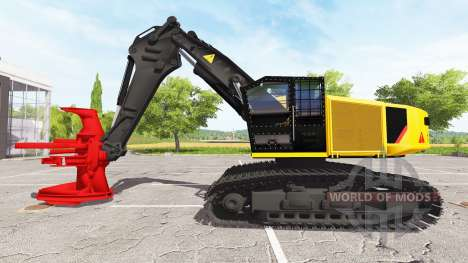 Валочно-пакетирующая машина для Farming Simulator 2017