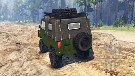 ЛуАЗ-969М для Spin Tires