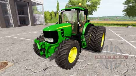John Deere 7430 Premium v1.1 для Farming Simulator 2017
