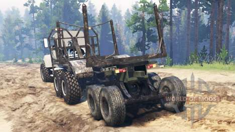 Mack M650 для Spin Tires