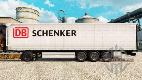 Скин Schenker на полуприцепы для Euro Truck Simulator 2