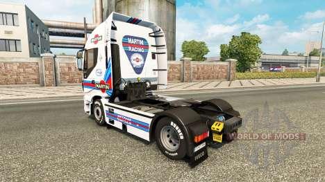 Скин Martini Racing на тягач Iveco для Euro Truck Simulator 2