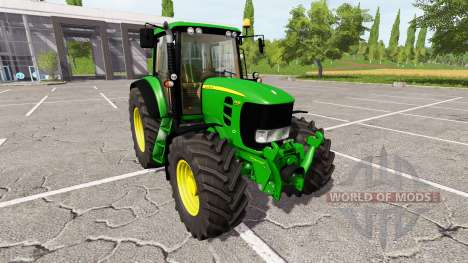 John Deere 7430 Premium для Farming Simulator 2017