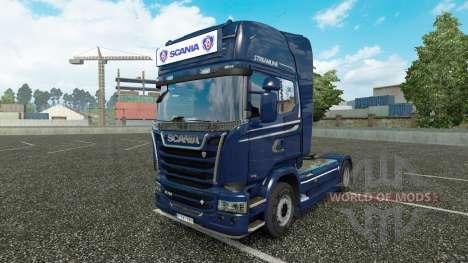 Рекламный световой короб для Scania Streamline для Euro Truck Simulator 2