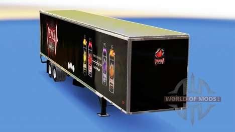 Полуприцеп с различными окрасами для American Truck Simulator