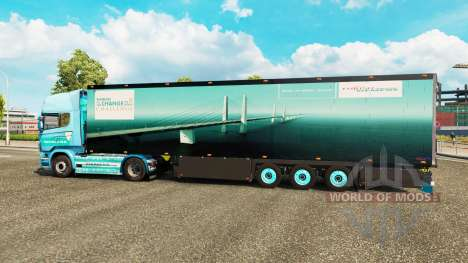 Полуприцеп-рефрижератор Schmitz Siemens для Euro Truck Simulator 2