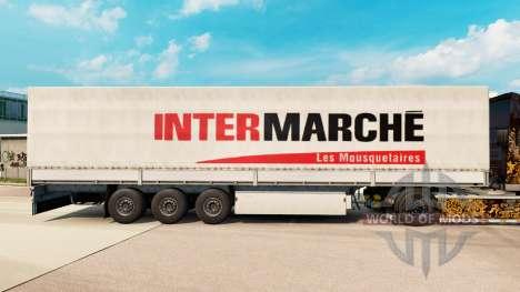 Скин Intermarche на полуприцепы для Euro Truck Simulator 2