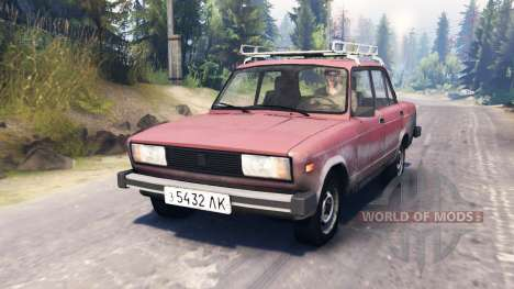 ВАЗ-2105 для Spin Tires