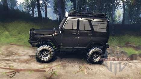 УАЗ-31520 v3.0 для Spin Tires