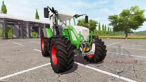 Fendt 716 Vario v1.02 для Farming Simulator 2017