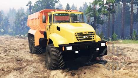 КрАЗ-65032 для Spin Tires