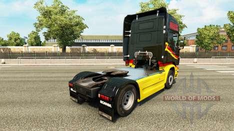Скин Pirelli на тягач Scania для Euro Truck Simulator 2