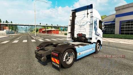 Скин Vaya con Dios на тягач Volvo для Euro Truck Simulator 2
