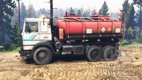 МАЗ-6317 v2.0 для Spin Tires