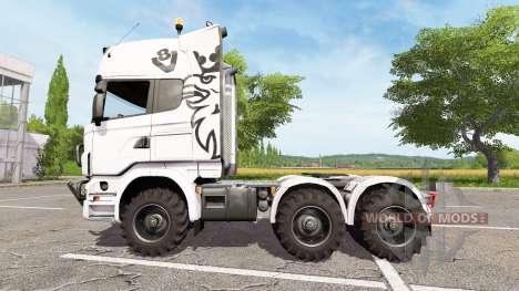 Scania R440 agro для Farming Simulator 2017