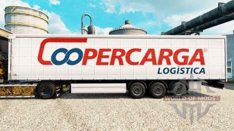 Скин Coopercarga на полуприцепы для Euro Truck Simulator 2