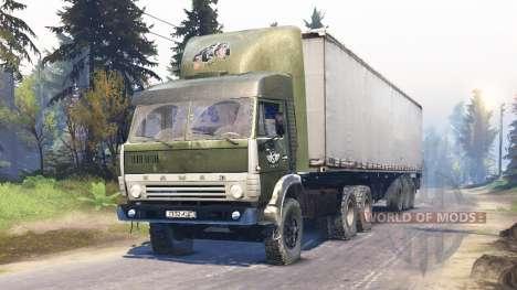 КамАЗ-5410 для Spin Tires