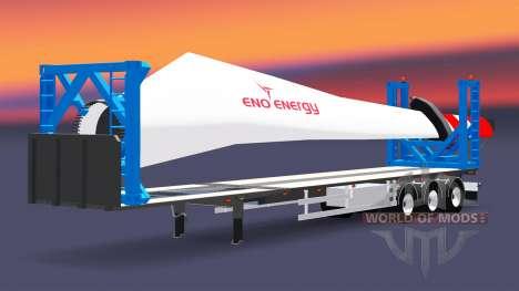 Сборник полуприцепов для Euro Truck Simulator 2