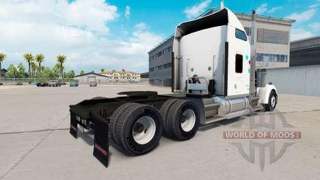 Скин FedEx Custom Critical на Kenworth W900 для American Truck Simulator