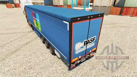 Скин BASF Societas Europaea на полуприцепы для Euro Truck Simulator 2
