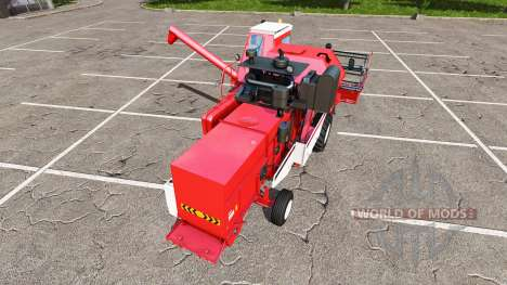Ростсельмаш СК-5МЭ-1 Нива-Эффект красный для Farming Simulator 2017