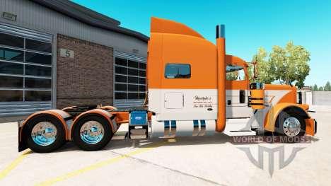 Peterbilt 389 v3.0 для American Truck Simulator
