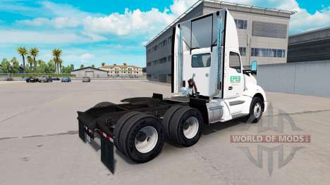 Скин Epes Transport daycab на Kenworth T680 для American Truck Simulator