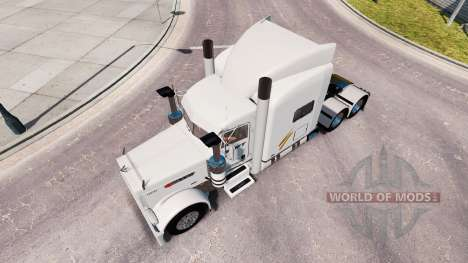 Скин Swift на тягач Peterbilt 389 для American Truck Simulator