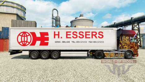 Скин H. Essers на полуприцепы для Euro Truck Simulator 2