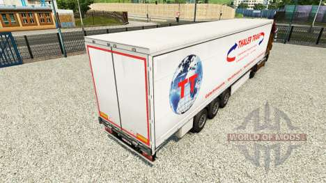 Скин Thaler Trans на шторный полуприцеп для Euro Truck Simulator 2