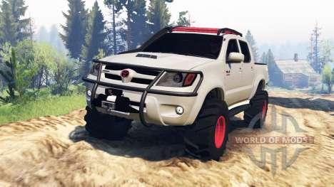 Toyota Hilux 2013 v2.0 для Spin Tires