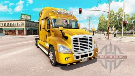 Freightliner Cascadia v2.1.3 для American Truck Simulator