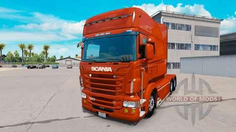 Scania R730 long v1.5.2 для American Truck Simulator