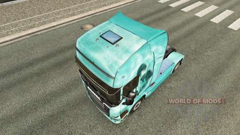 Скин Skull на тягач Scania для Euro Truck Simulator 2