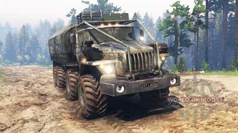 Урал-4320-10 8x8 для Spin Tires