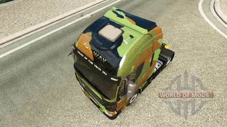 Скин Camo на тягач Iveco для Euro Truck Simulator 2