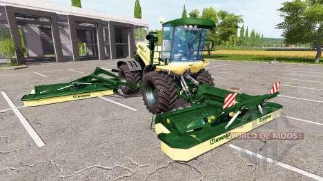 Krone BiG X 500 v1.5 для Farming Simulator 2017