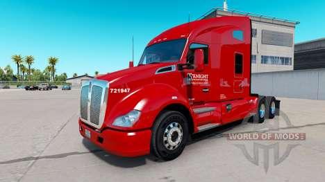 Скин Knight Transportation на Kenworth T680 для American Truck Simulator