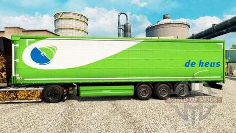 Скин De Heus на полуприцепы для Euro Truck Simulator 2
